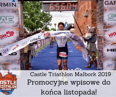 triathlon malbork cena